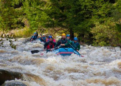 Rafting v Čertových proudech