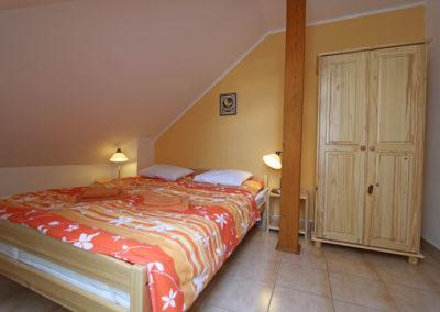 Apartmán 4 - ložnice