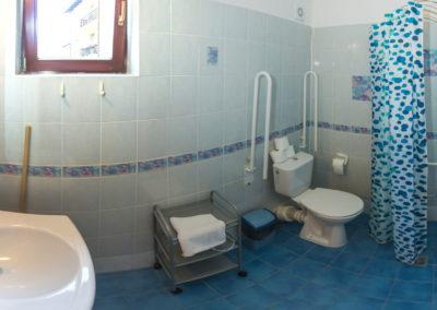 Bezbariérová koupelna apartmán 1
