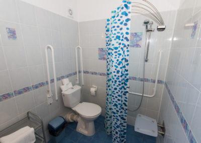 Bezbariérová koupelna ap. 1